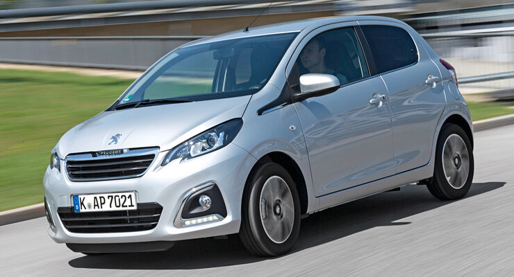 Peugeot 108 Puretech 82, Seitenansicht