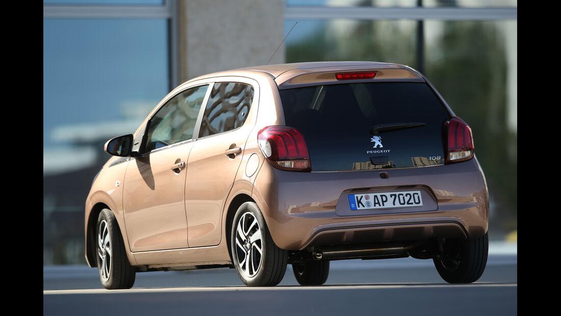 Peugeot 108 e-VTi 68, Heckansicht