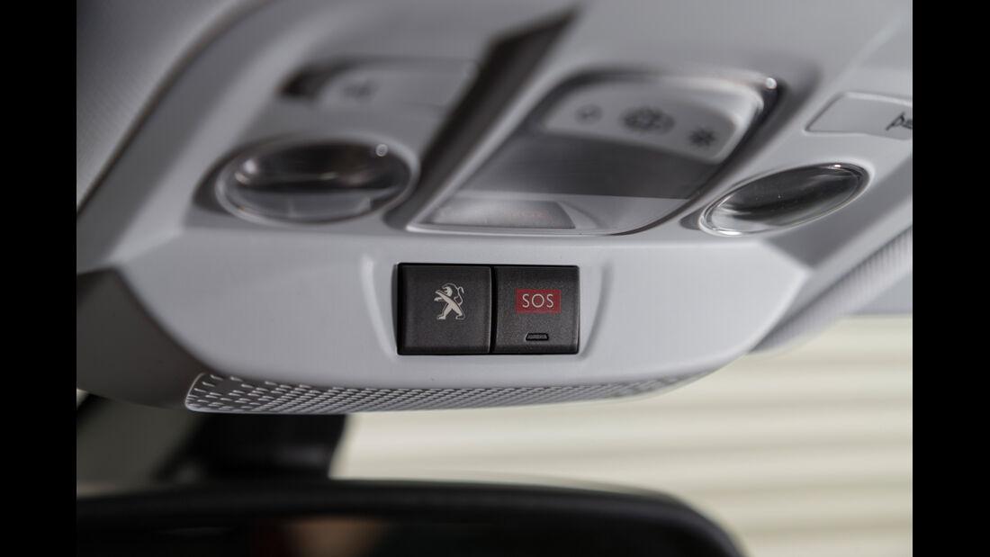 Peugeot 2008 120 Vti, Bedienelemente
