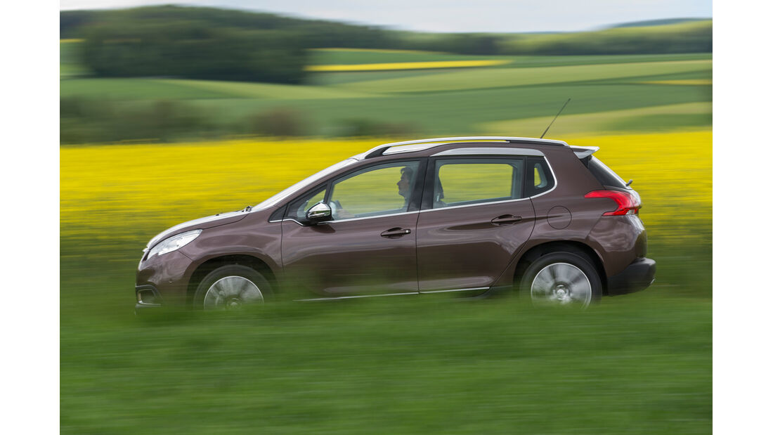 Peugeot 2008 120 Vti, Seitenansicht
