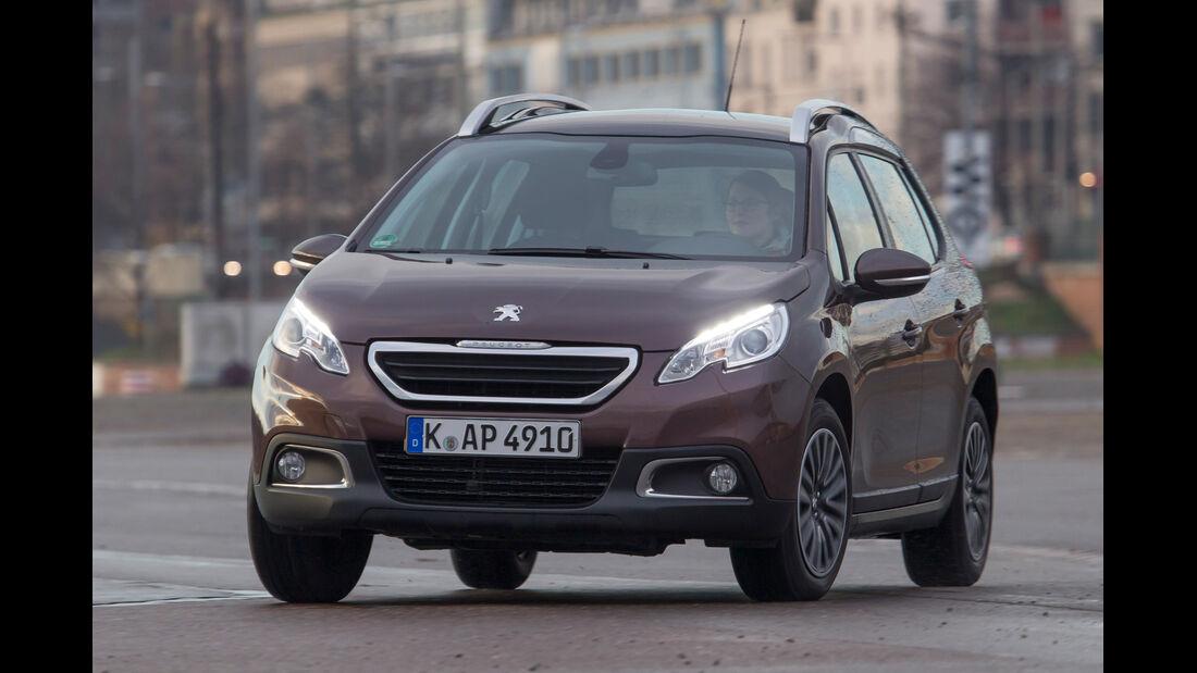Peugeot 2008 82 VTi Active, Frontansicht