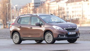Peugeot 2008 82 VTi Active, Seitenansicht
