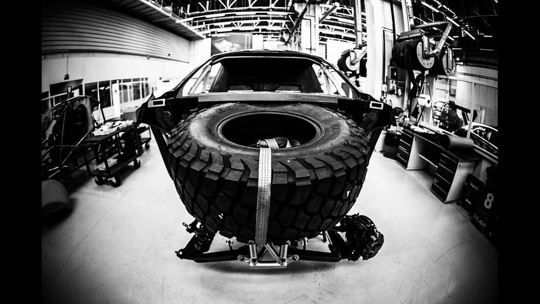 Peugeot 2008 DKR Dakar Rallye 2015