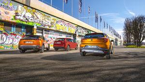Peugeot 2008, Exterieur