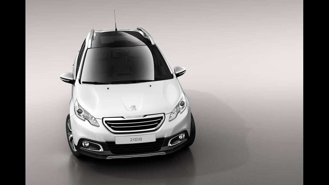 Peugeot 2008, Frontansicht