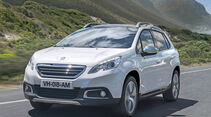 Peugeot 2008, Frontansicht