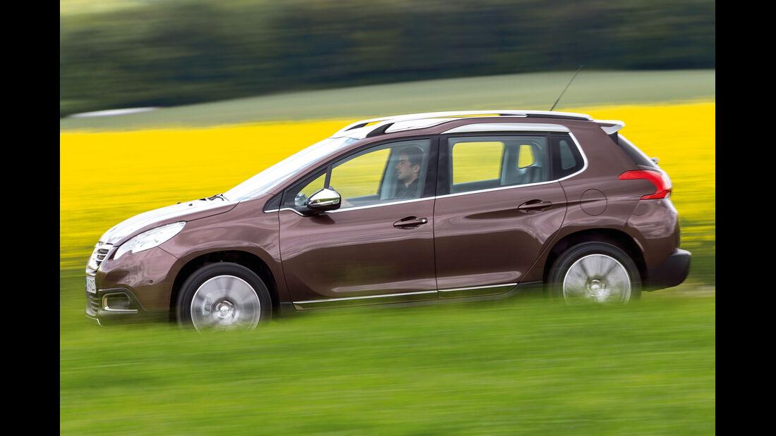 Peugeot 2008, Seitenansicht