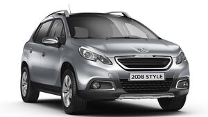 Peugeot 2008 Style Sondermodell