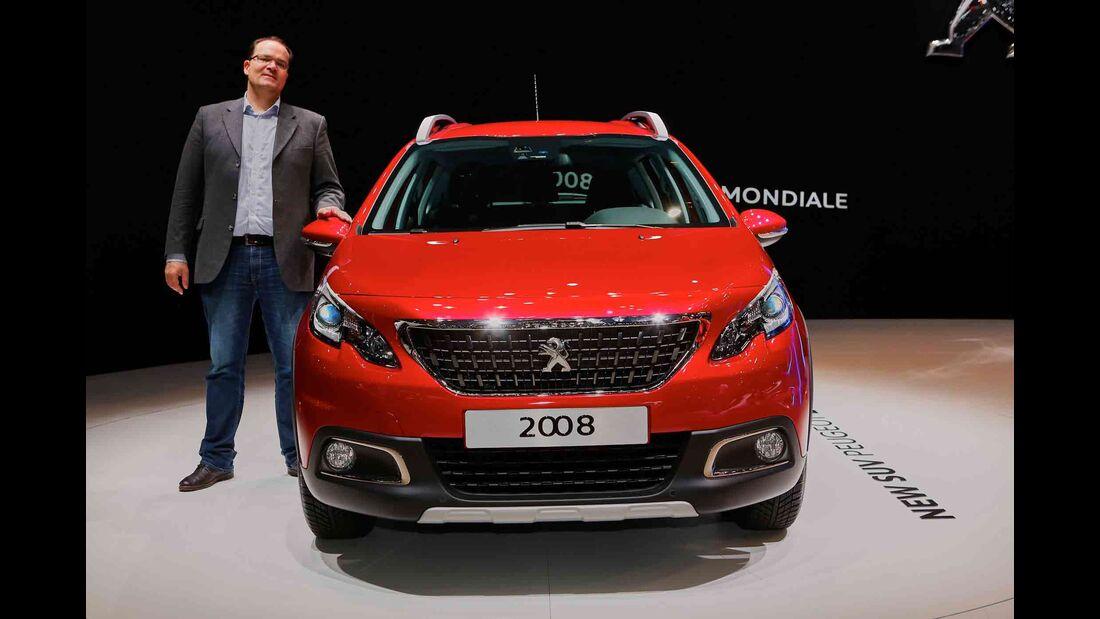 Peugeot 2008 Vergleich Audi Q2