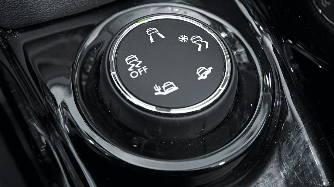 Peugeot 2008 e-HDi 115, Bedienelement, Grip-Control