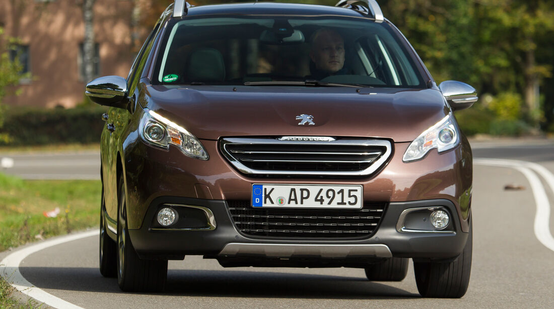 Peugeot 2008 e-HDi 115, Frontansicht