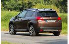 Peugeot 2008 e-HDi 115, Heckansicht