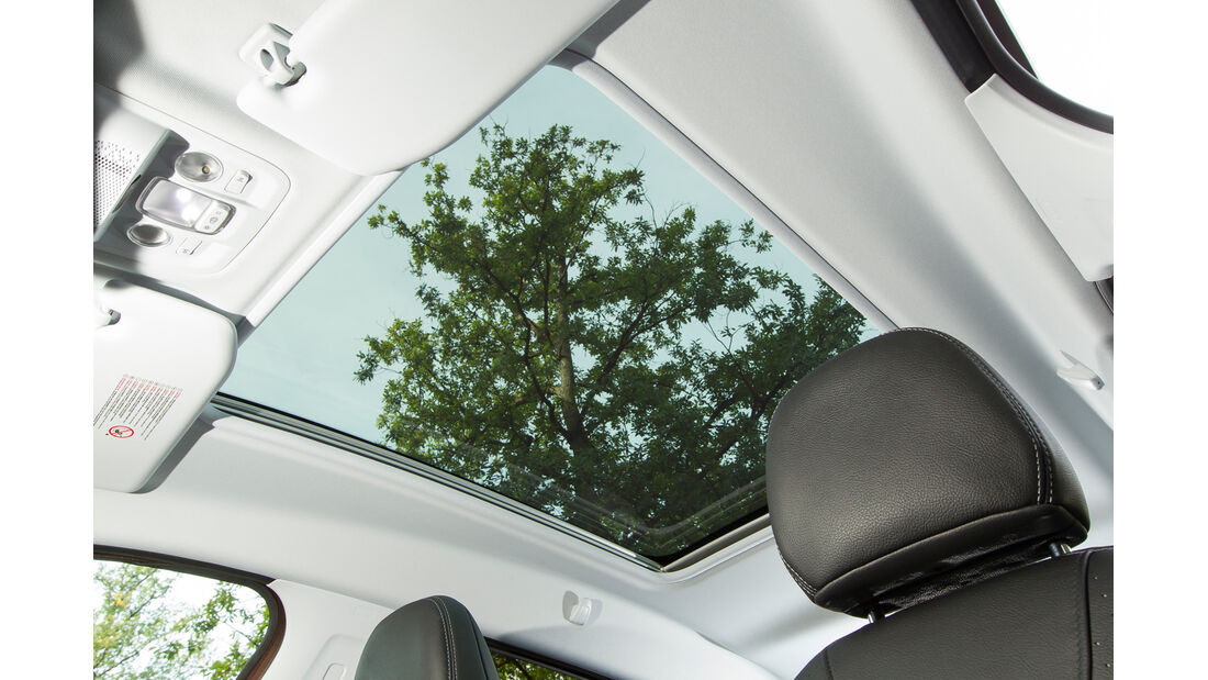 Peugeot 2008 e-HDi 115, Panoramafenster