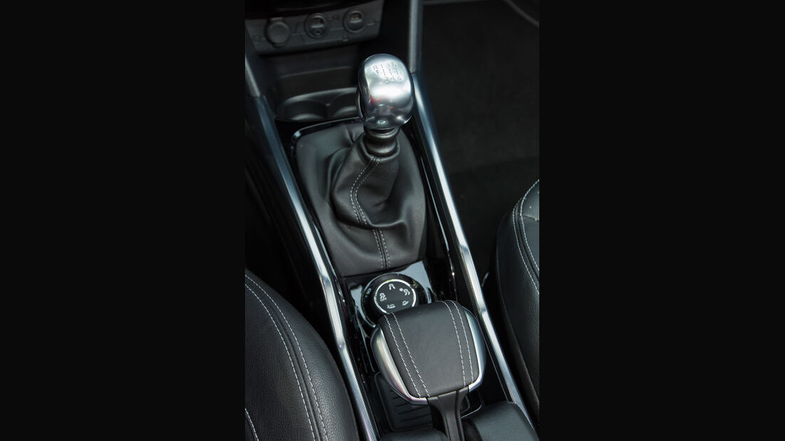 Peugeot 2008 e-HDi 115, Schalthebel