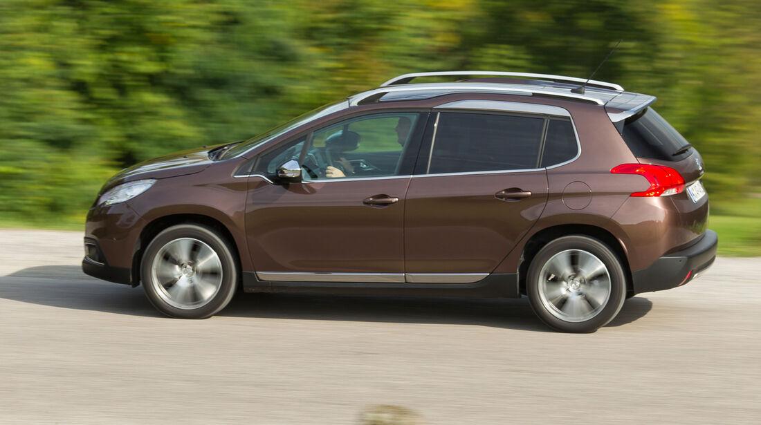 Peugeot 2008 e-HDi 115, Seitenansicht