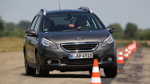 Peugeot 2008 e-HDi 92, Frontansicht