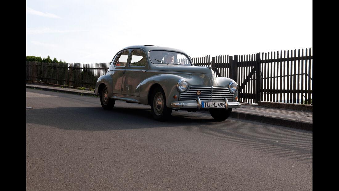 Peugeot 203, Frontansicht