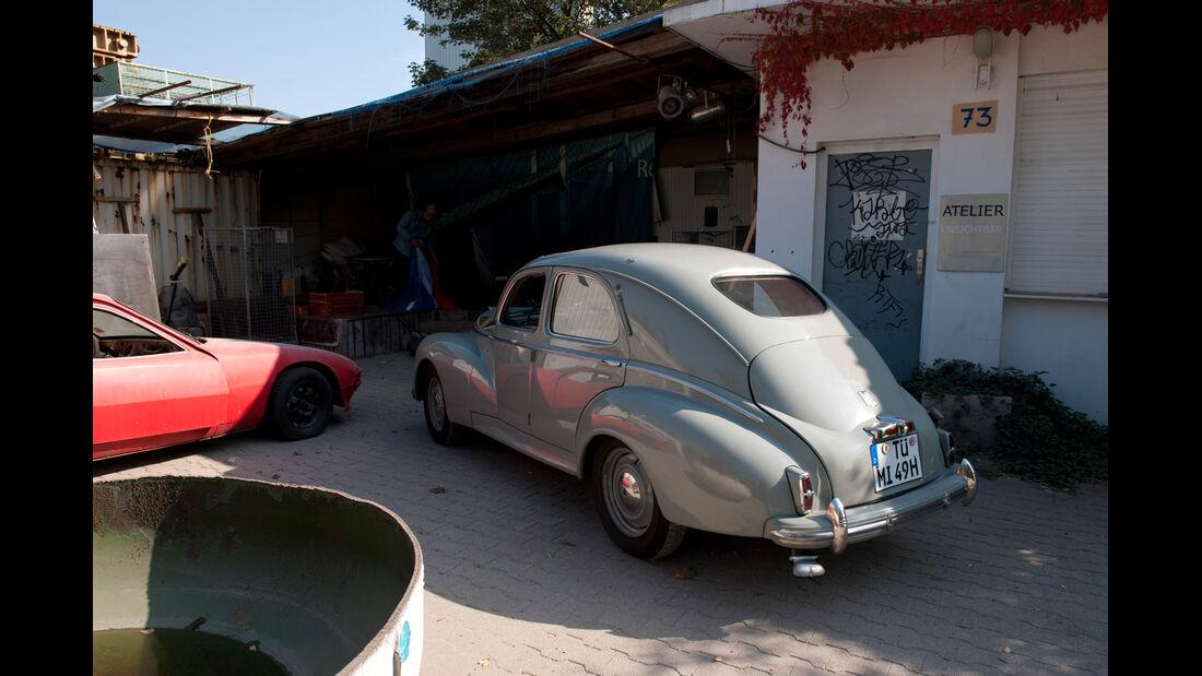 Peugeot 203, Heck