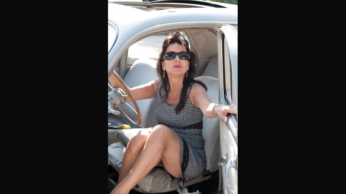 Peugeot 203, Isabelle, Fahrersitz