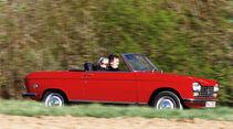 Peugeot 204 Cabrio, Seitenansicht