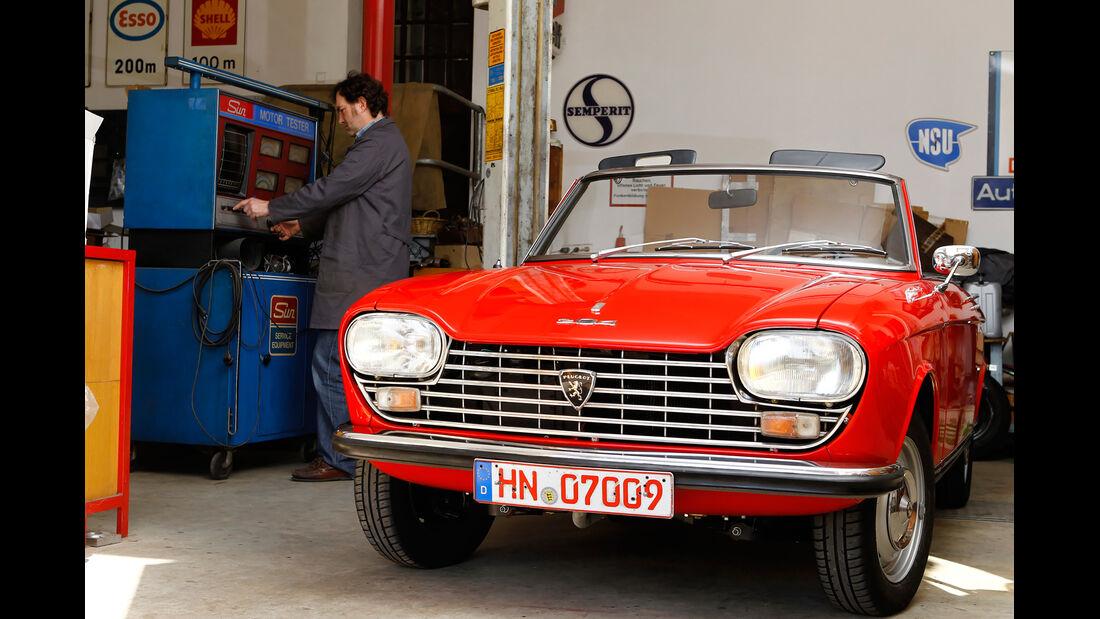 Peugeot 204 Cabriolet, Frontansicht