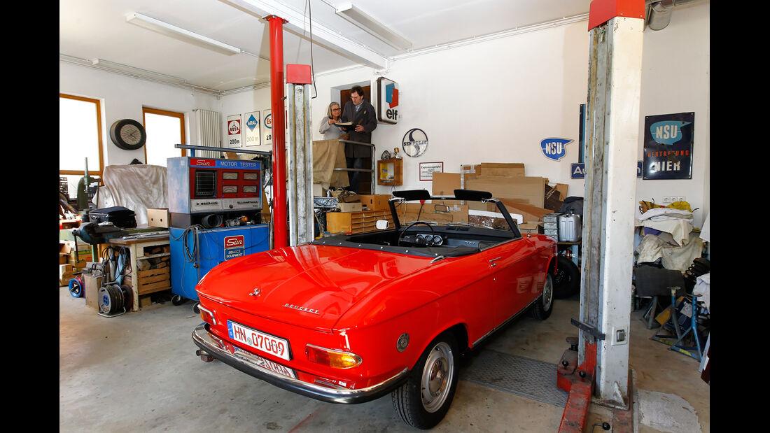 Peugeot 204 Cabriolet, Heck