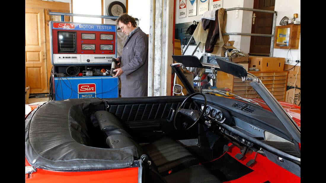 Peugeot 204 Cabriolet, Innenraum