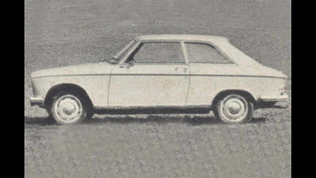 Peugeot, 204, Coupé, IAA 1967