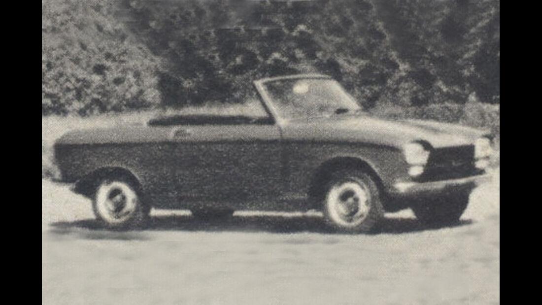 Peugeot, 204, IAA 1967