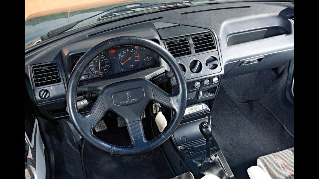 Peugeot 205 Cabrio 1.4 Roland Garros, Cockpit