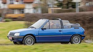 Peugeot 205 Cabriolet CJ, Seitenansicht
