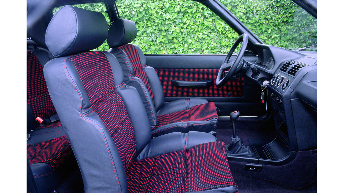 Peugeot 205 GTI, Frontansicht