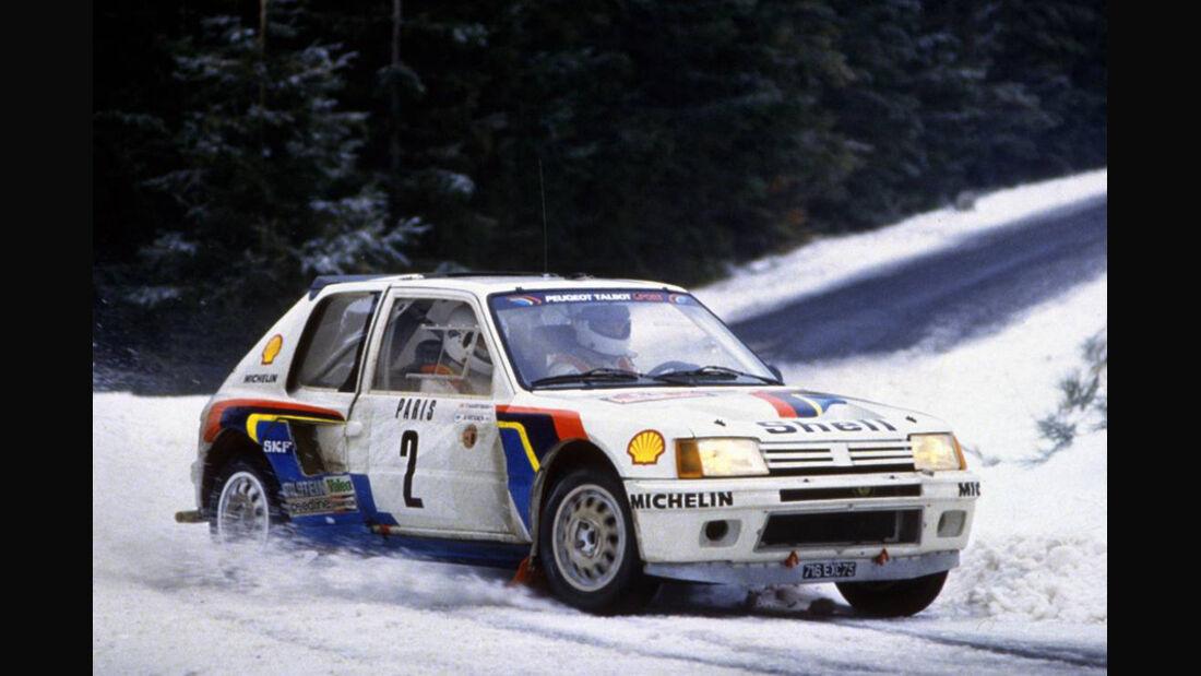 Peugeot 205 - Rallye Monte Carlo