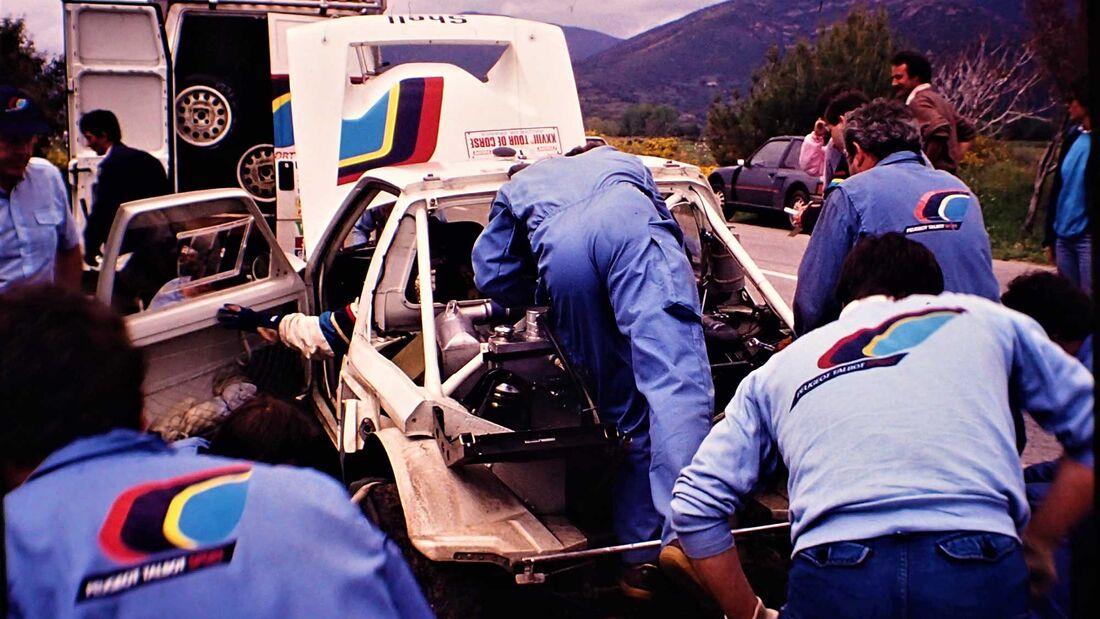 Peugeot 205 T16 Rallye Tour de Corse 1984
