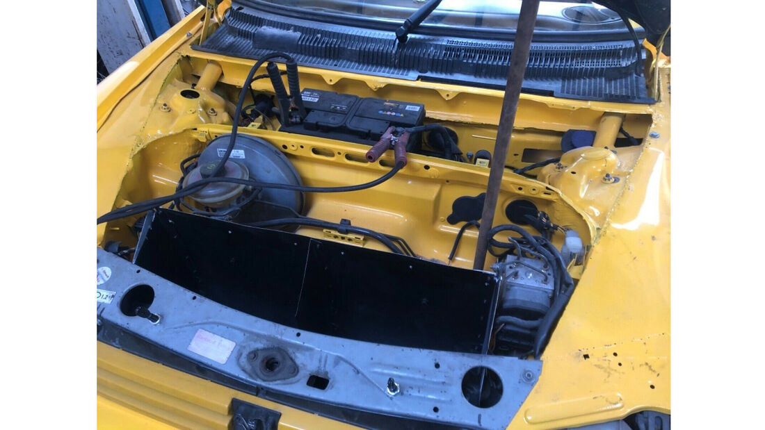 Peugeot 205 mit Porsche-Boxster-Motor