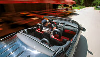 Peugeot 206 CC 110, Fahrersicht