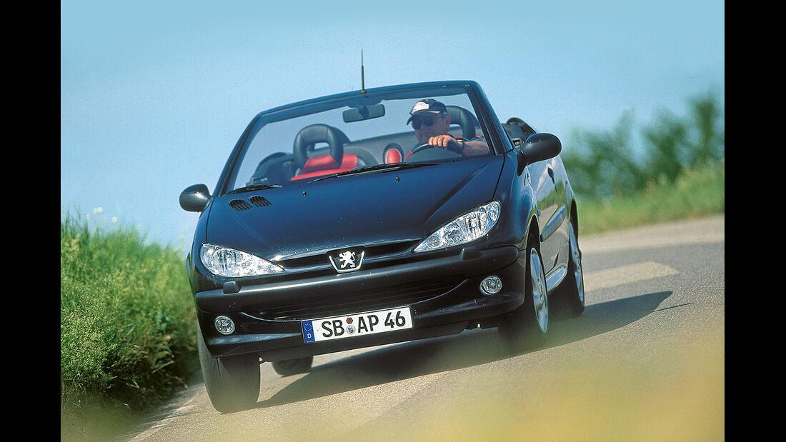 Peugeot 206 CC 110, Frontansicht