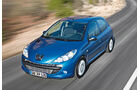 Peugeot 206, Frontansicht