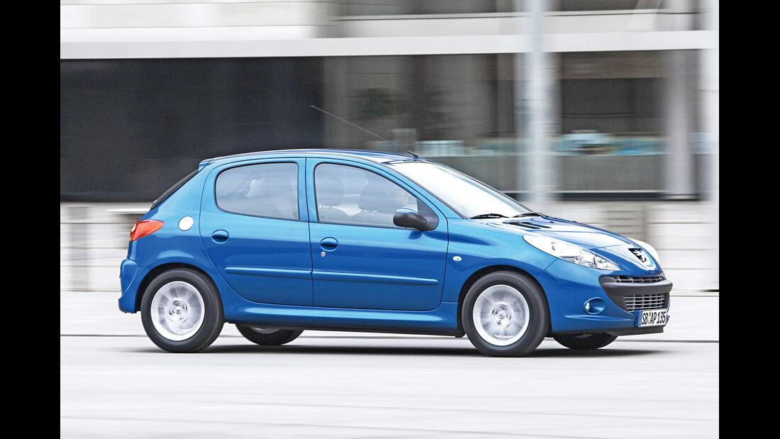 Peugeot 206, Seitenansicht