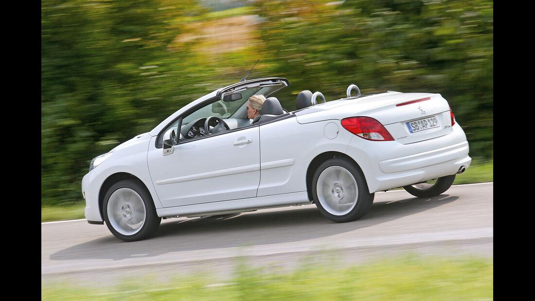 Peugeot 207 CC 1.6 Vti, Seitenansicht