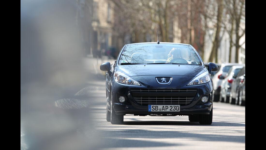 Peugeot 207 CC 155 THP, Frontansicht