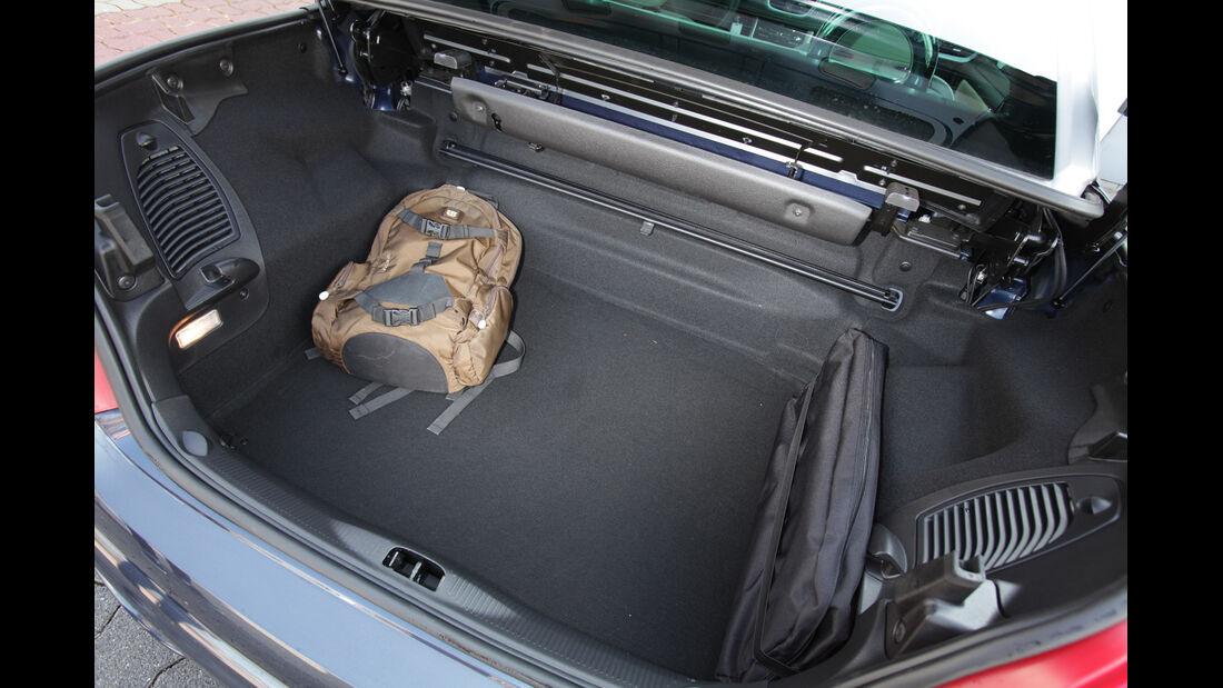 Peugeot 207 CC 155 THP, Kofferraum