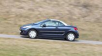 Peugeot 207 CC 155 THP, Seitenansicht