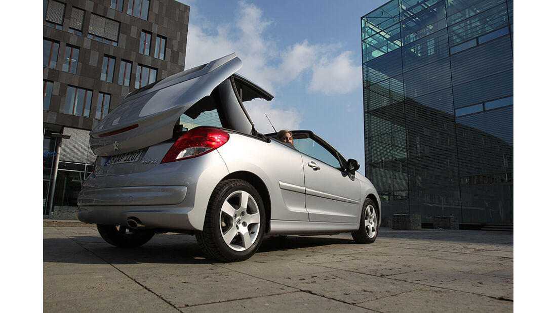Peugeot 207 CC, Cabrio, klappbares Hardtop
