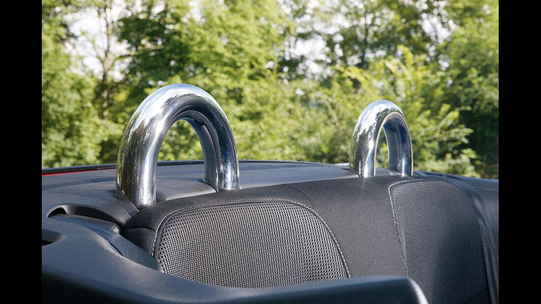 Peugeot 207 CC, Chrombügel