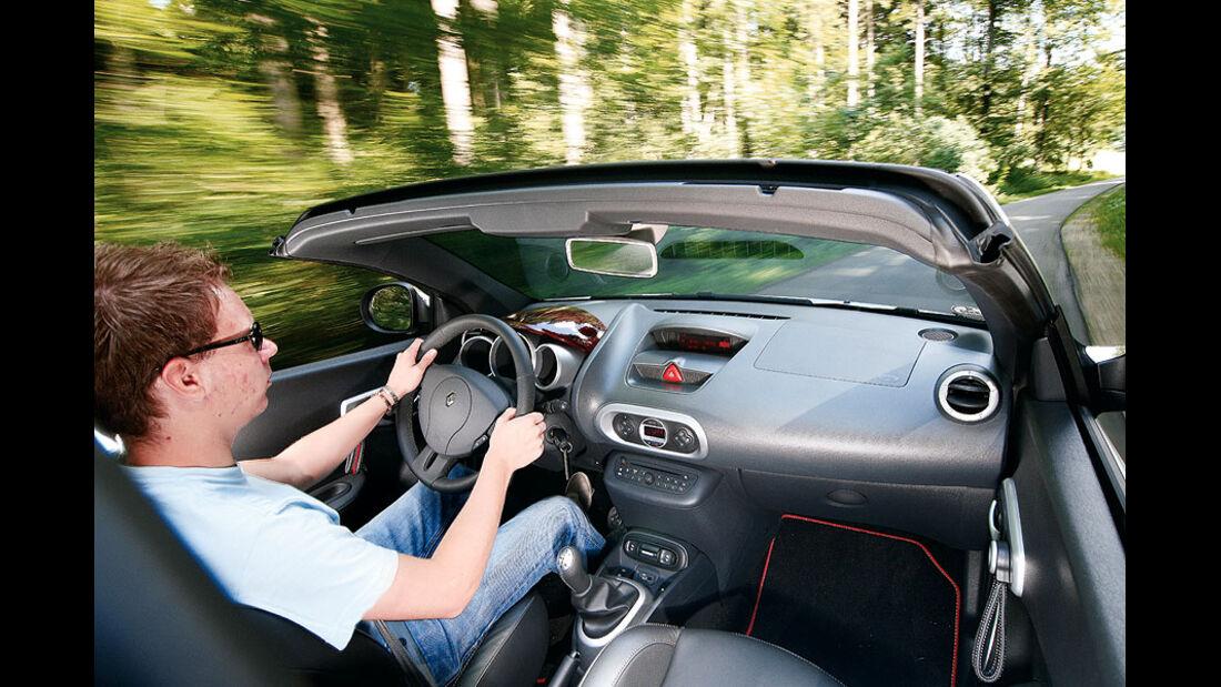 Peugeot 207 CC, Cockpit