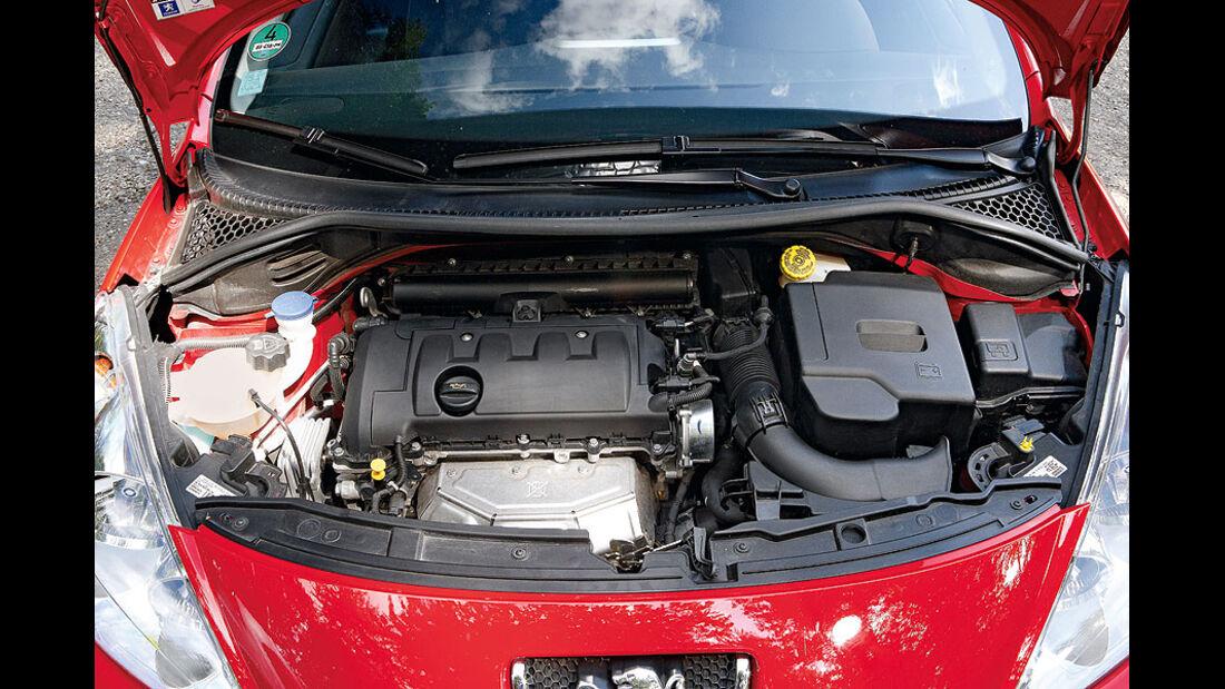 Peugeot 207 CC, Motor