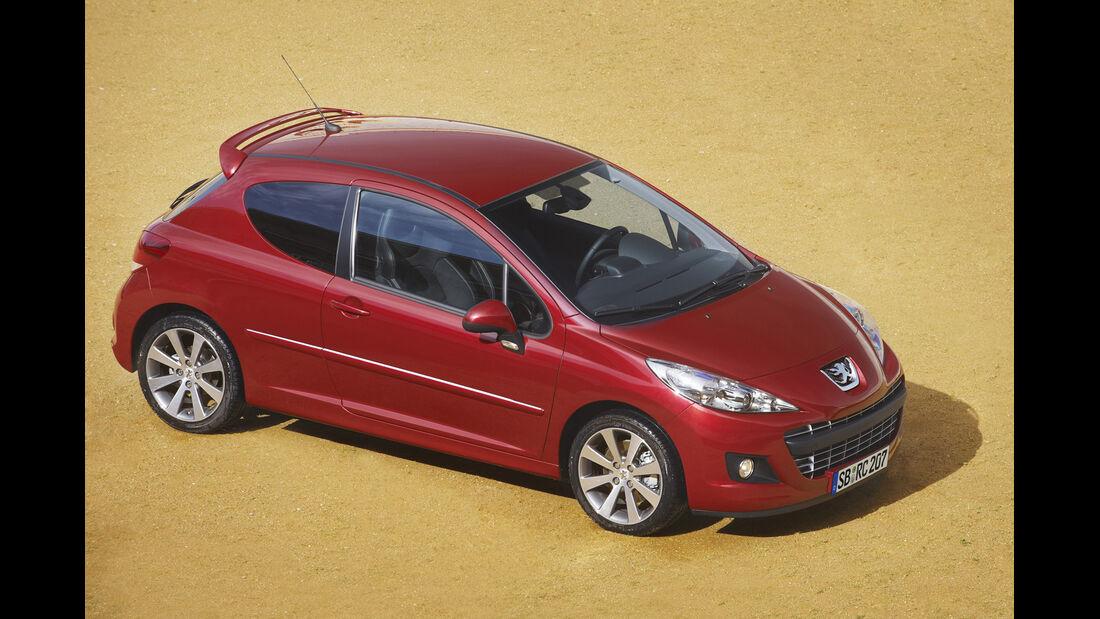 Peugeot 207 RC, Seitenansicht