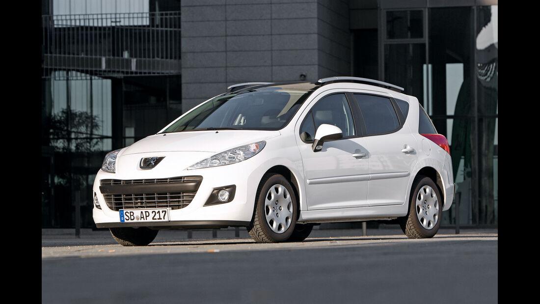 Peugeot 207 SW, Seitenansicht