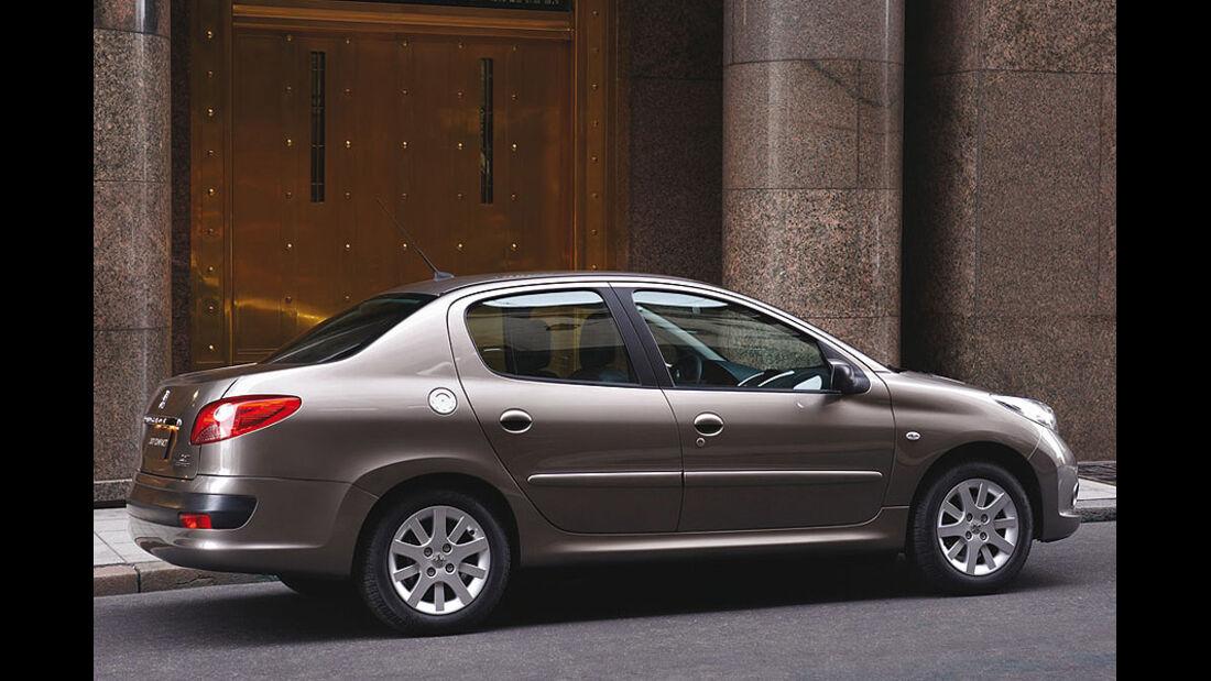 Peugeot 207 Sedan Stufenheck Limousine